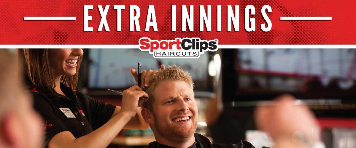 The Sport Clips Haircuts of Doral  Extra Innings Offerings