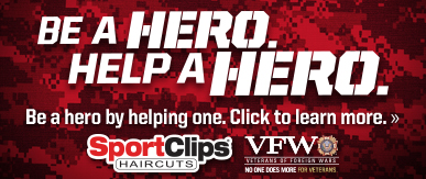 Sport Clips Haircuts of Doral ​ Help a Hero Campaign